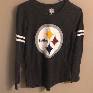 Gently Used Steelers Long Sleeve T - Medium